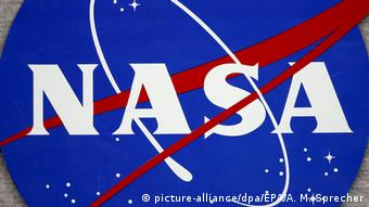 NASA-Logo (picture-alliance/dpa/EPA/A. M. Sprecher)