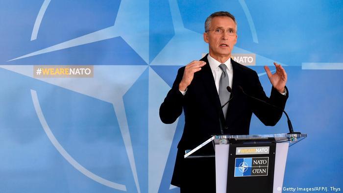 Brüssel Treffen NATO-Verteidigungsminister | Jens Stoltenberg, NATO-Generalsekretär (Getty Images/AFP/J. Thys)