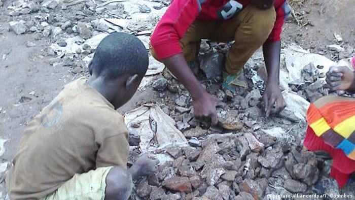 Demokratische Republik Kongo Kinderarbeit in Kobaltminen