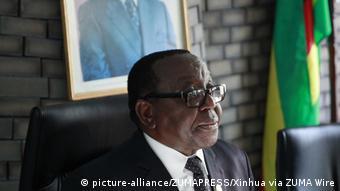 Simbabwes ehemaliger Vizepräsident Emmerson Mnangagwa
