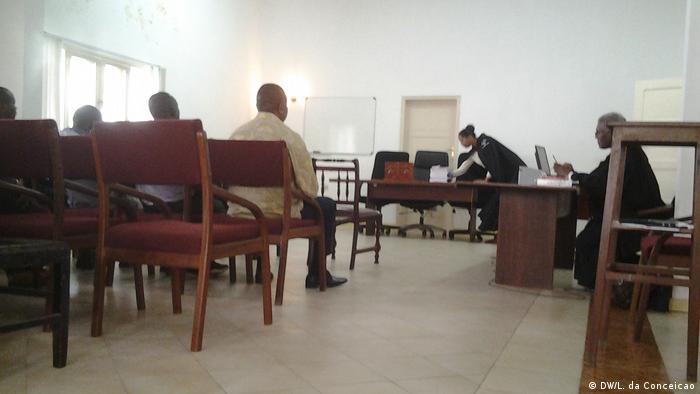 Sala do Tribunal de Inhambane praticamente vazia