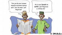 Baba Cartoon Paradise Papers Nigeria