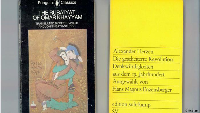A Penguin Classic and a Suhrkamp classic side by side (Reclam)