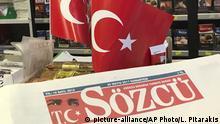 Turkey Oppositionszeitung Sözcü