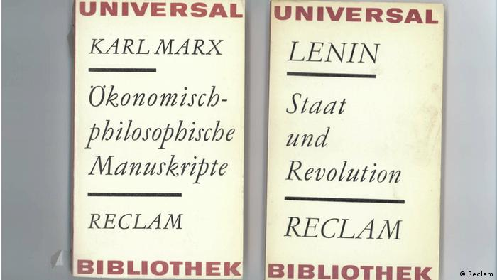 Reclam books by Marx and Lenin (Reclam)