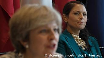 UK Theresa May and Priti Patel file photo(picture alliance/empics/S. Rousseau)
