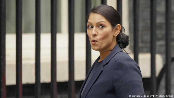 Priti Patel (picture alliance/AP Photo/A. Grant)