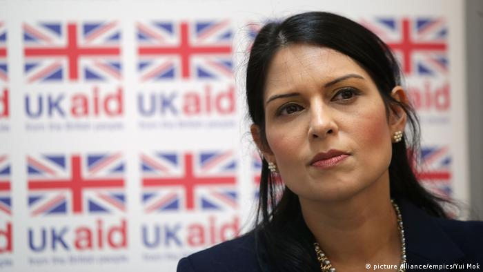 UK Priti Patel ARCHIV (picture alliance/empics/Yui Mok)