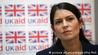 UK Priti Patel ARCHIV (picture alliance/empics/Yui Mok)