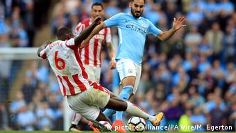 Manchester City - Stoke City | Ilkay Gündogan (picture alliance/PA Wire/M. Egerton)