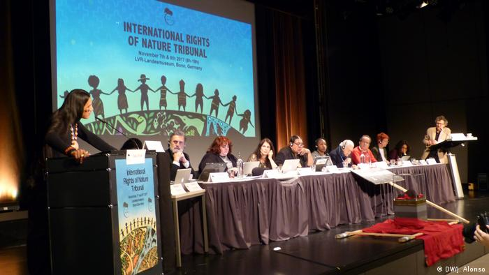 International Rights of Nature Tribunal in Bonn (DW/J. Alonso)