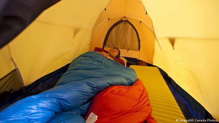 В поход - с надежным спальным мешком