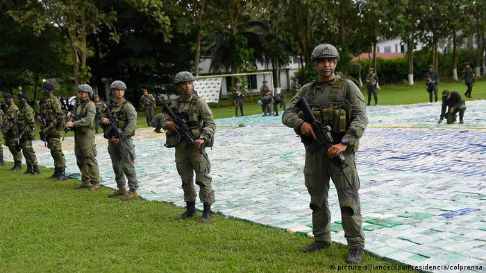 Kolumbien Rekordfund12 Tonnen Kokain (picture-alliance/dpa/Presidencia/colprensa)