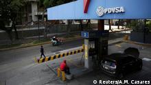 Venezuela Tankstelle von PDVSA in Caracas