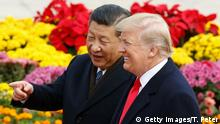 China USA Donald Trump & Xi Jinping in Peking