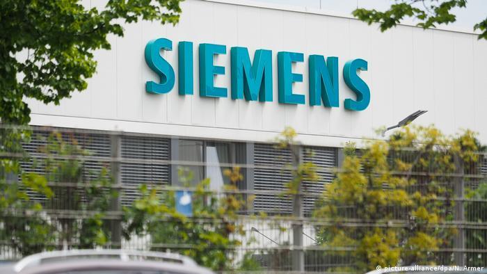 Deutschland Elektronikkonzern Siemens in Fürth