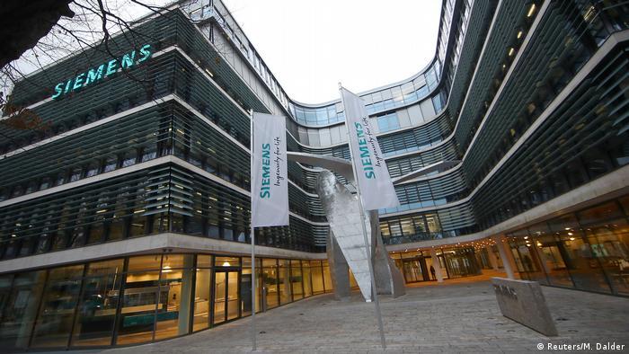 Deutschland Siemens Hauptquartier in München