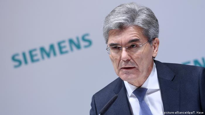 Deutschland Siemens Jahrespressekonferenz | Joe Kaeser, Vorstandsvorsitzender