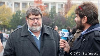 Богдан Хосу с нашия репортер Роберт Шварц