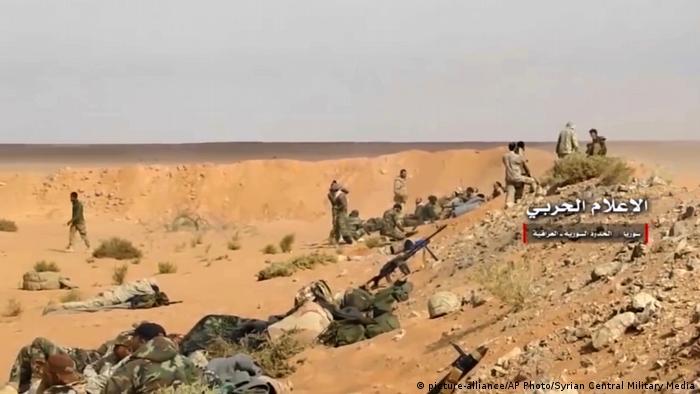 Бої проти Ісламської держави біля Абу-Камаль