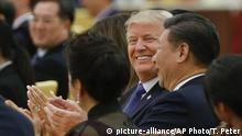 China Trumps Besuch