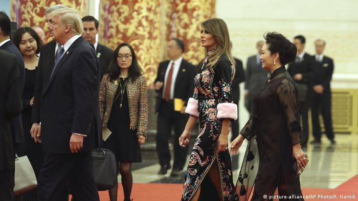 China Trumps Besuch (picture-alliance/AP Photo/A. Harnik)