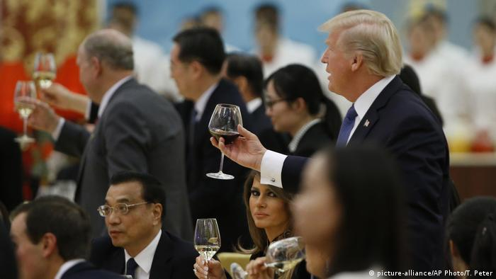 China Trumps Besuch (picture-alliance/AP Photo/T. Peter)
