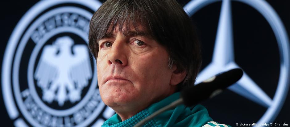 """Joachim Löw, técnico da seleção alemã de futebol: """"Provavelmente seremos os favoritos em 2018"""""""