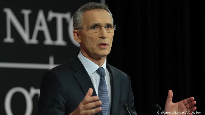 Belgien NATO-Treffen   PK Generalsekretär Stoltenberg