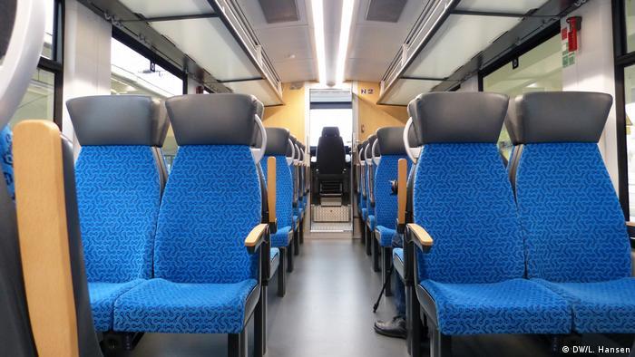 Unutrašnjost vlaka Coradia iLint