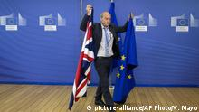 Symbolbild EU Brexit-Verhandlungen (picture-alliance/AP Photo/V. Mayo)