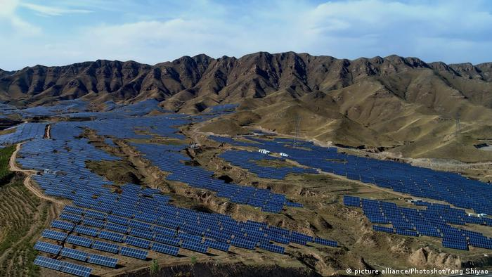Photovoltaik-Anlage in China