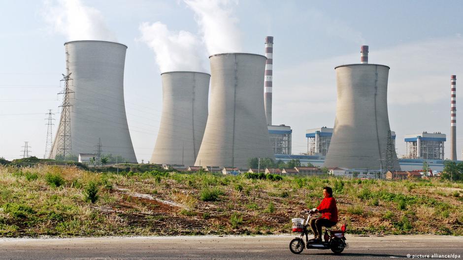 淮安市的一座煤電廠