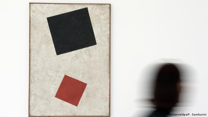 Deutschland Malewitsch-Gemälde in Kunstsammlung NRW ist Fälschung