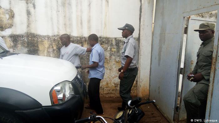 Mosambik Festnahme von Manuel Tocova