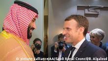 Saudi-Arabien Riad Besuch Emmanuel Macron