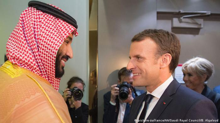 French President Emmanuel Macron made a surprise visit to the Saudi capital Riyadh earlier this month to meet with the next-in-line to Saudi throne, Crown Prince Mohammed bin Salman al-Saud