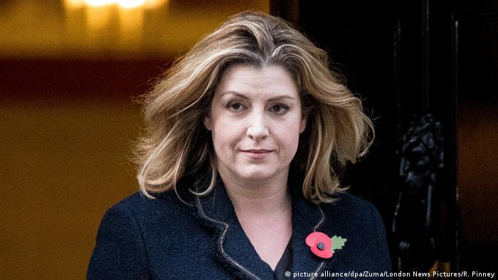 Penny Mordaunt (picture alliance/dpa/Zuma/London News Pictures/R. Pinney)
