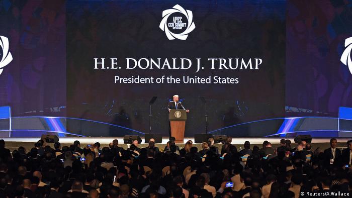 Donald Trump APEC CEO Gipfel Vietnam (Reuters/A.Wallace)
