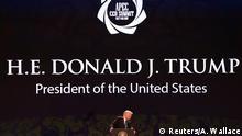 USA Donald Trump Rede beim APEC Gipfel in Danang