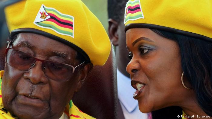 Robert and Grace Mugabe
