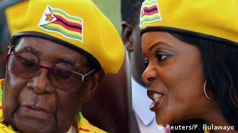 Rais R.G. Mugabe na mkewe Grace