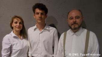 Livaniou, Bretschneider and Jannis Nikolaou are Greek and German members of the production