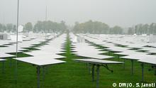 Deutschland - DLR Jülich Solar mirror park at DLR Jülich. These mirrors collect and reflect the Sunlight. There are more then 2000 thousand giant mirrors there.