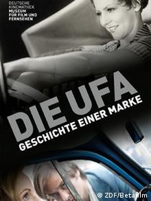 "exhibtion poster:""Ufa – history of a brand"" (ZDF/Betafilm)"