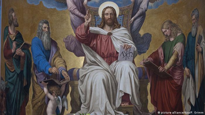 Фреска в Закровском храме, Потсдам