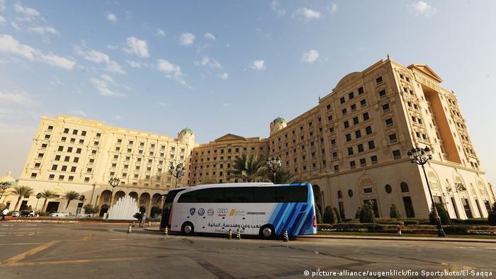 Ritz-Carlton in Saudi Arabien (picture-alliance/augenklick/firo Sportphoto/El-Saqqa)