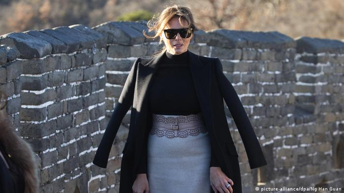 Melania Trump in China (picture-alliance/dpa/Ng Han Guan)