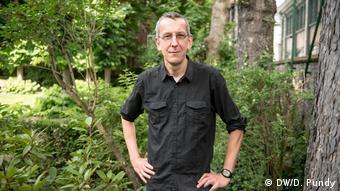Atomkraftgegner Jan Vande Putte von der Umweltschutzorganisation Greenpeace Belgien