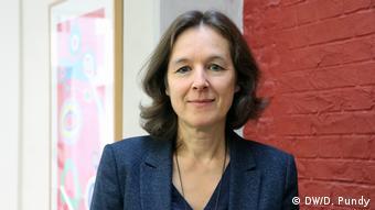 Annemie Vermeylen - Lobbyistin Annemie Vermeylen von der Belgian Offshore Platform